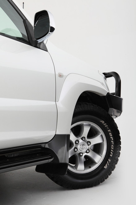RockArmor Side Steps/Rocksliders - Toyota Prado 120 Series