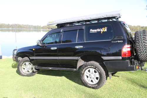 105 Series Landcruiser (Live Axle) - Dual Spare Wheel Carrier