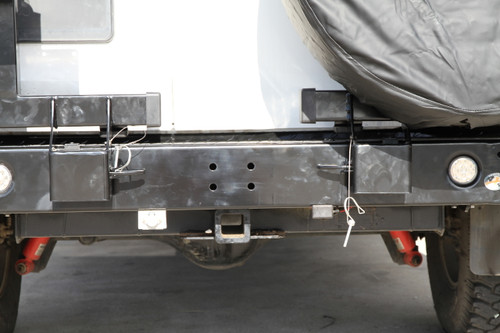 Nissan GU Patrol Y61 Series 1-3 Gen III Spare Wheel Carrier