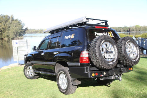100 Series Landcruiser IFS Dual Spare wheel carrier