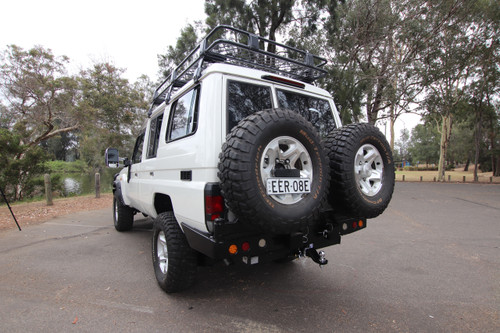 Dual Spare Wheel carrier 75/78 SERIES LANDSCRUISER
