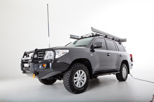 Rockarmor Toyota 200 Series Landcruiser Heavy duty Rockslider Steel Side Steps