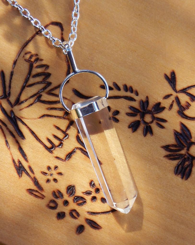 Quartz Pendulum Necklace