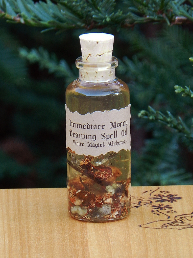 Powerful Immediate Money Drawing Spell Oil 1 Ounce