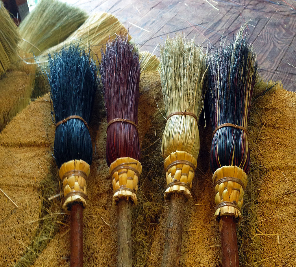 Handmade Witch Brooms