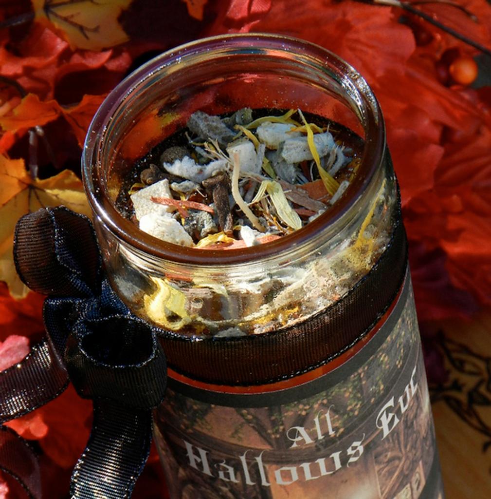 Halloween Ritual Candles
