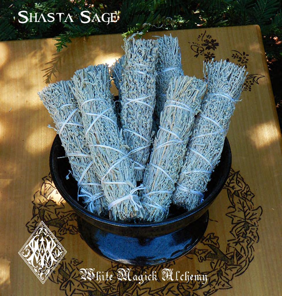 Shasta Sage Smudge Wand for Clearing & Healing from Mt Shasta Vortex