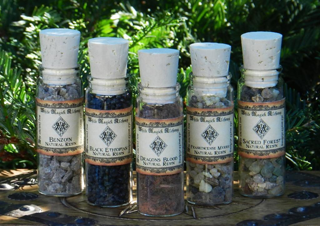 Seven Chakras All Natural Resin Incense Blend