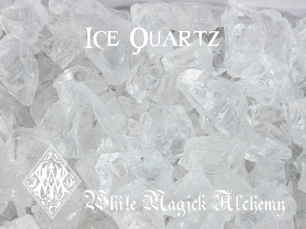 Ice Quartz Crystals Clear Raw Diamond Nuggets