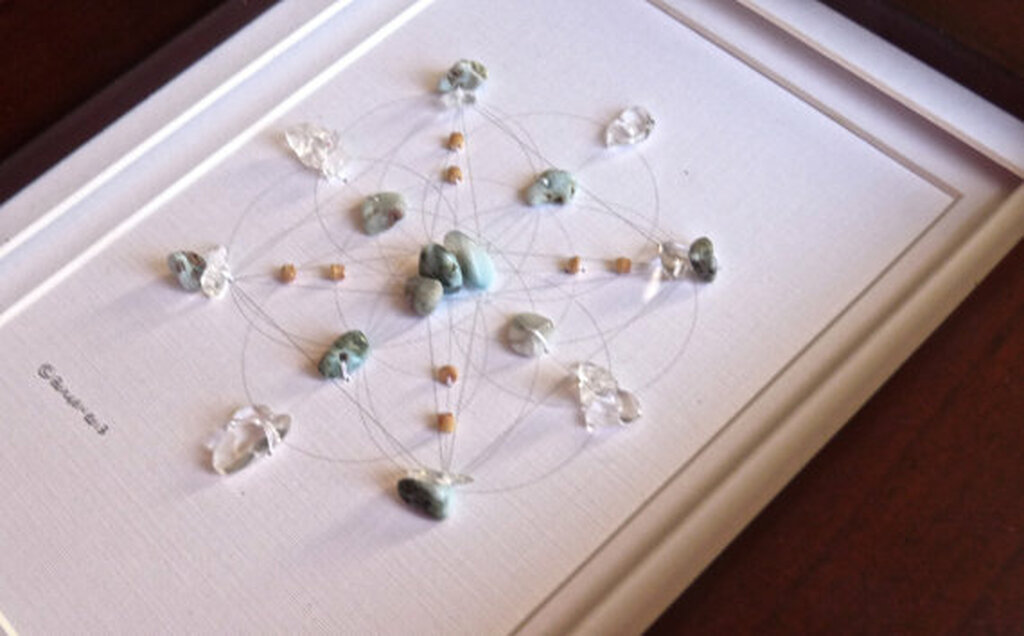 Crystal Grids Handmade