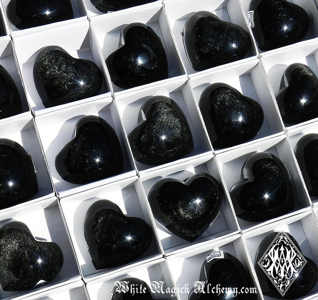 Black Obsidian SILVER SHEEN Gemstone
