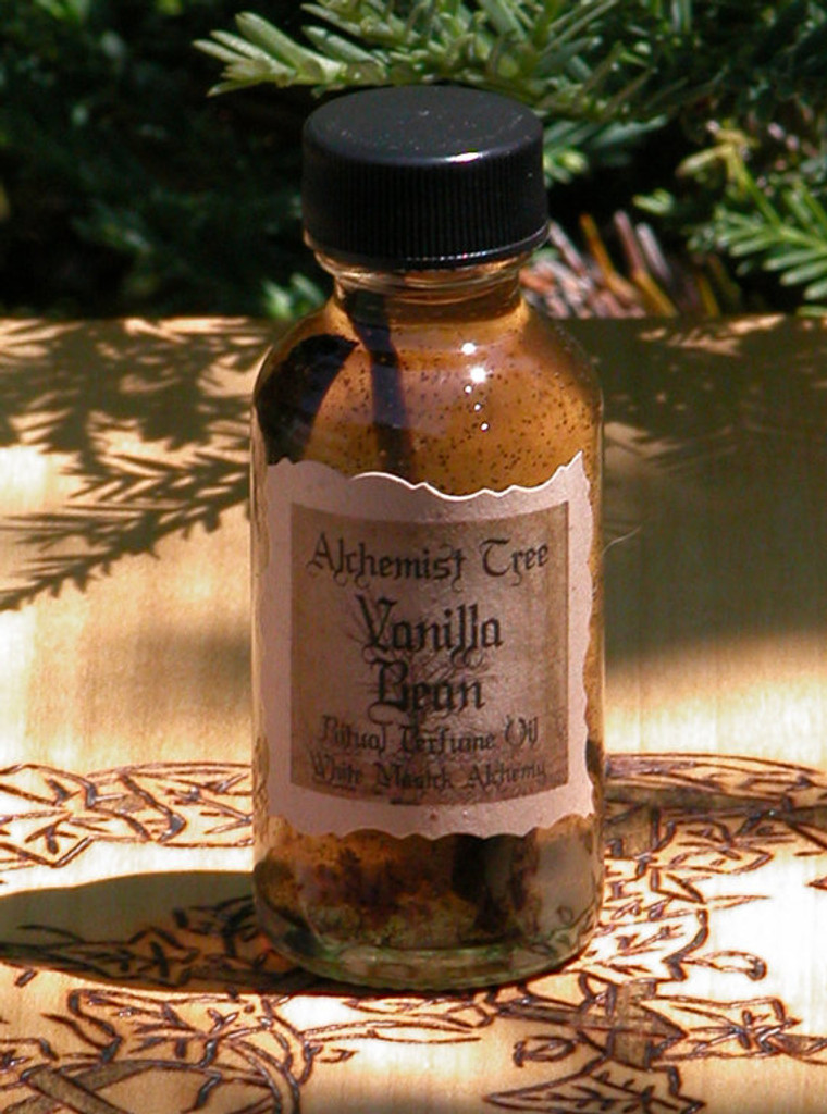 "Madagascar Bourbon Vanilla Bean ""Alchemist Tree"" Ritual Perfume Oil . Love, Passion, Romance, Sex, Mental Clarity and Strength"