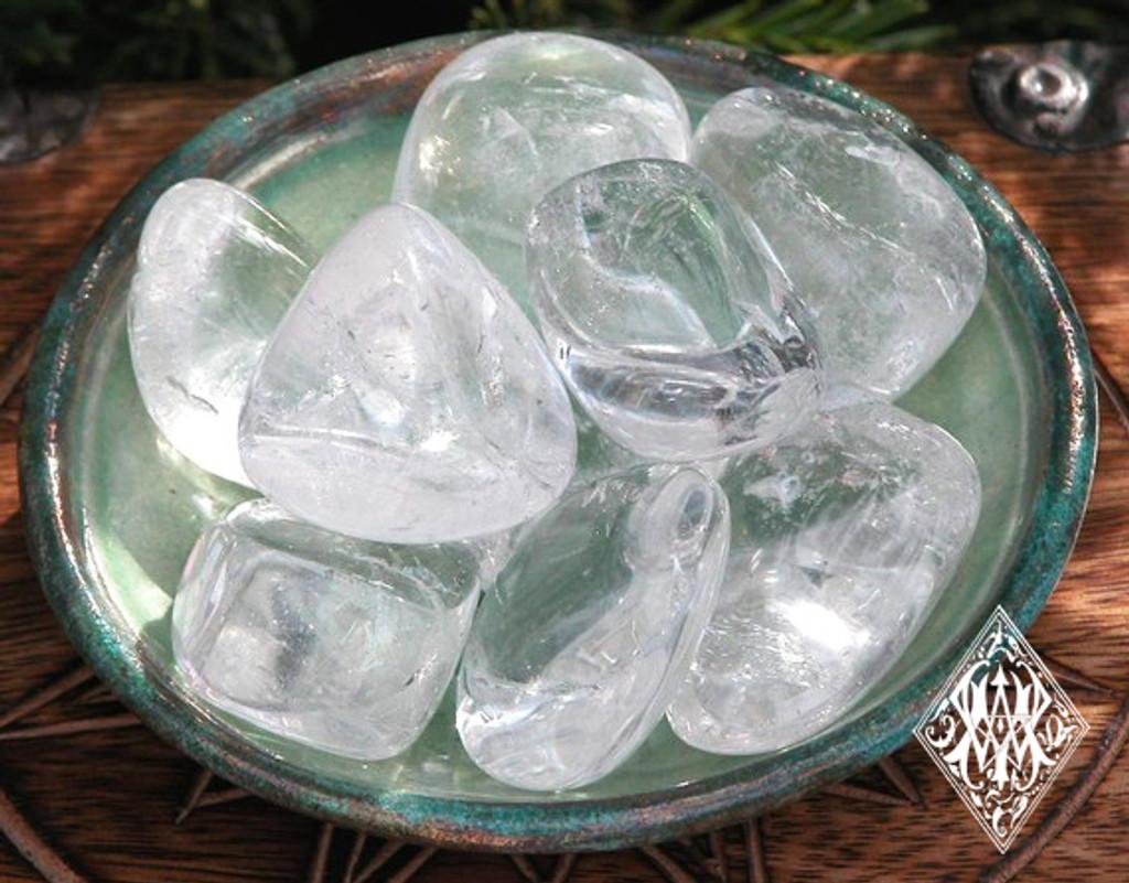 Crystal Quartz Gemstone Tumbled Ultimate Power Stone Jumbo