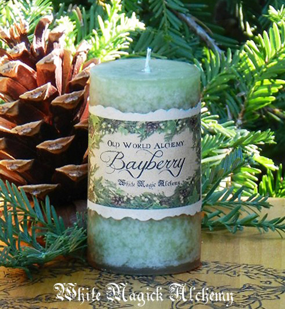 Bayberry Candles  for Yule, Christmas, Winter Solstice, Luck, Money & Prosperity