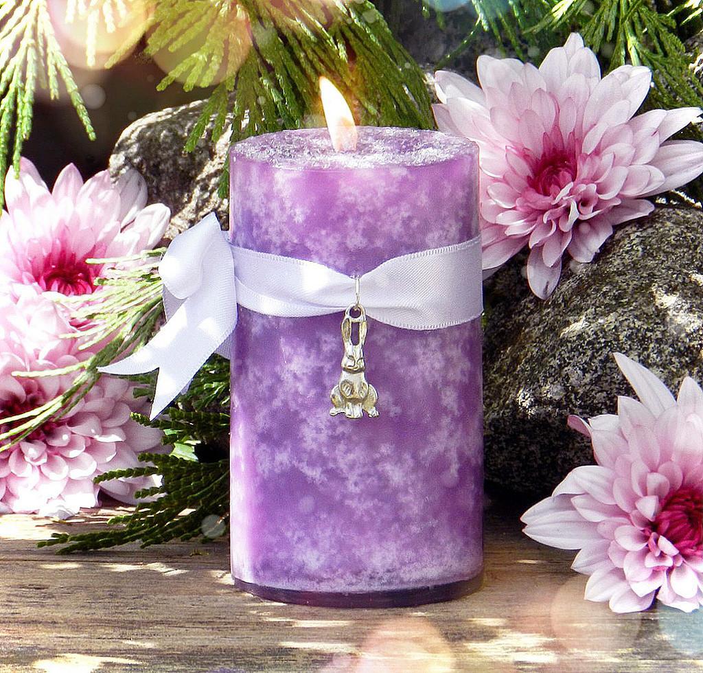 Ostara Ritual Candles