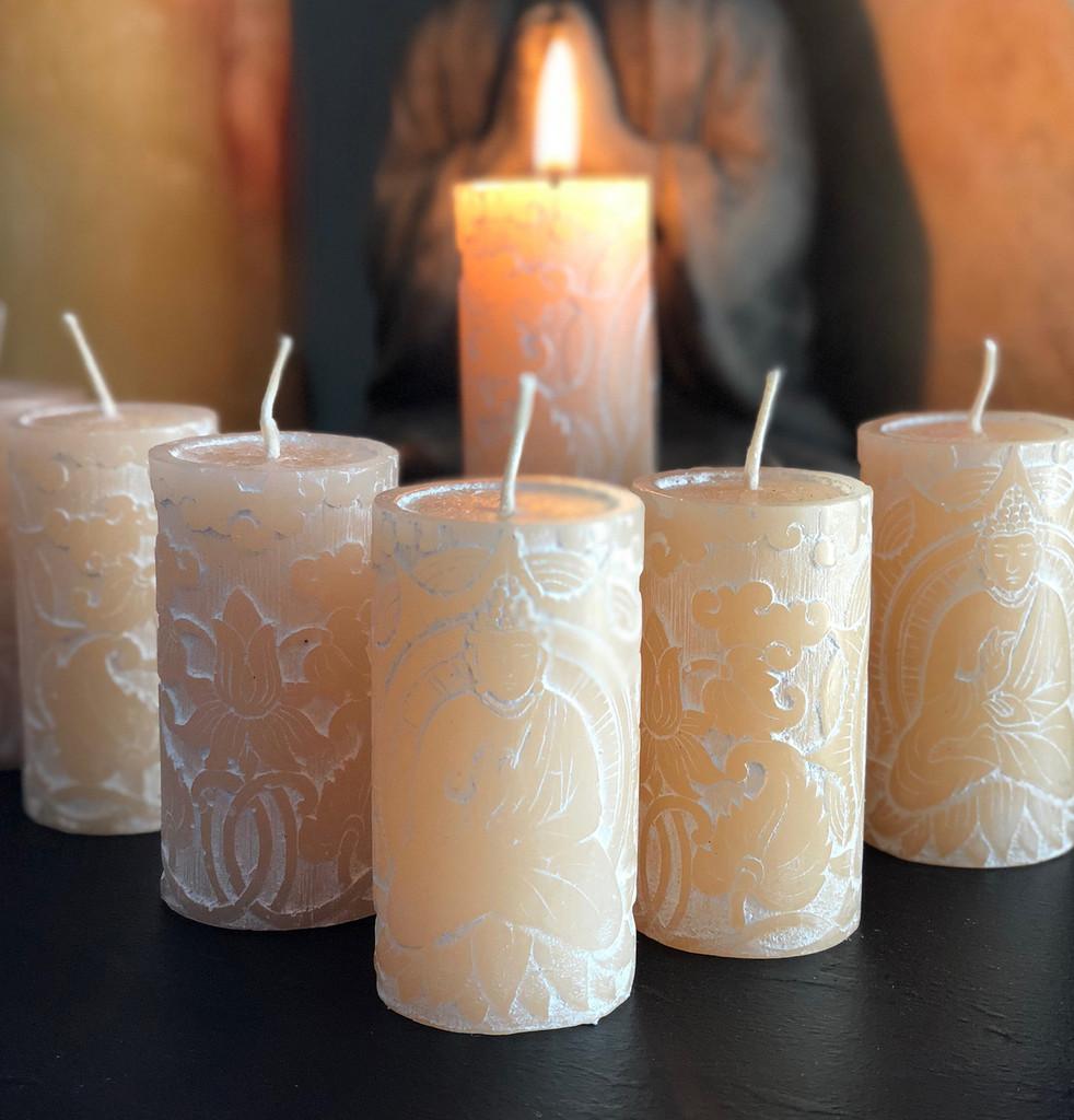 Antique Jasmine Meditation Candles