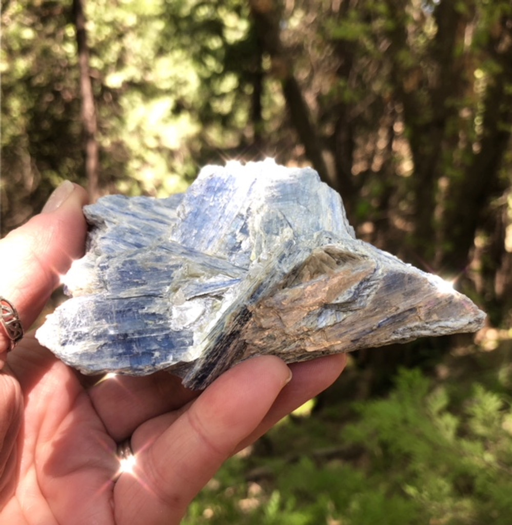 Blue Kyanite Natural Specimen
