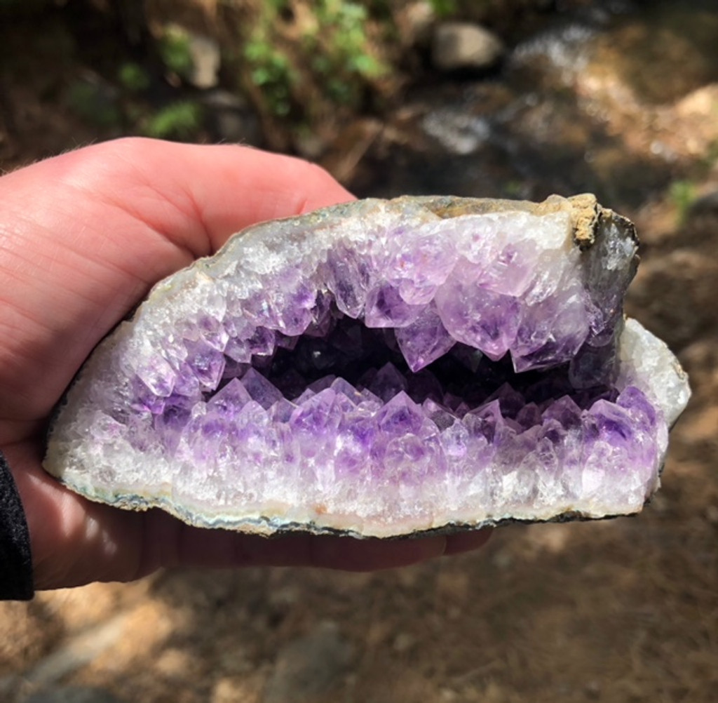 Amethyst Vug Specimen from my Personal Collection