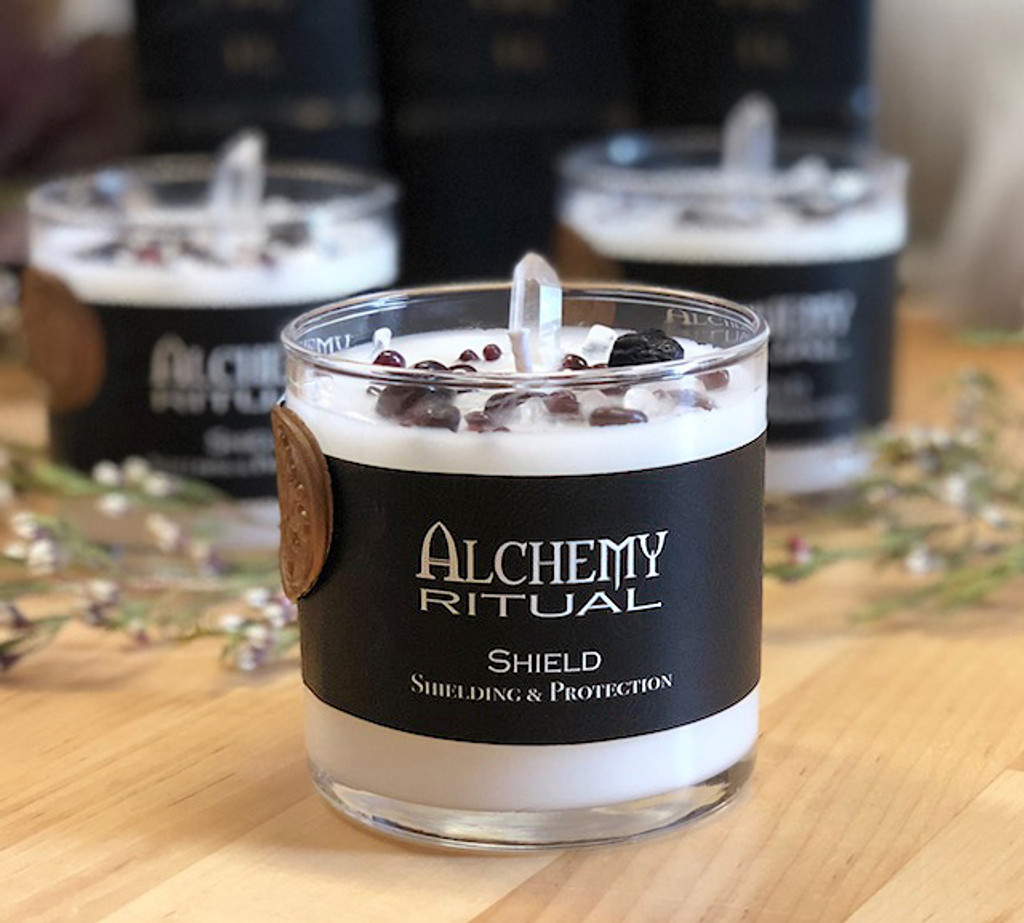 Shield - Alchemy Ritual Candles for Shielding & Protection