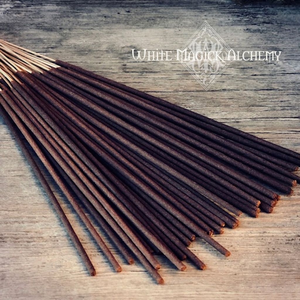 Frankincense & Myrrh Stick Incense by Alchemy Ritual White Magick Alchemy