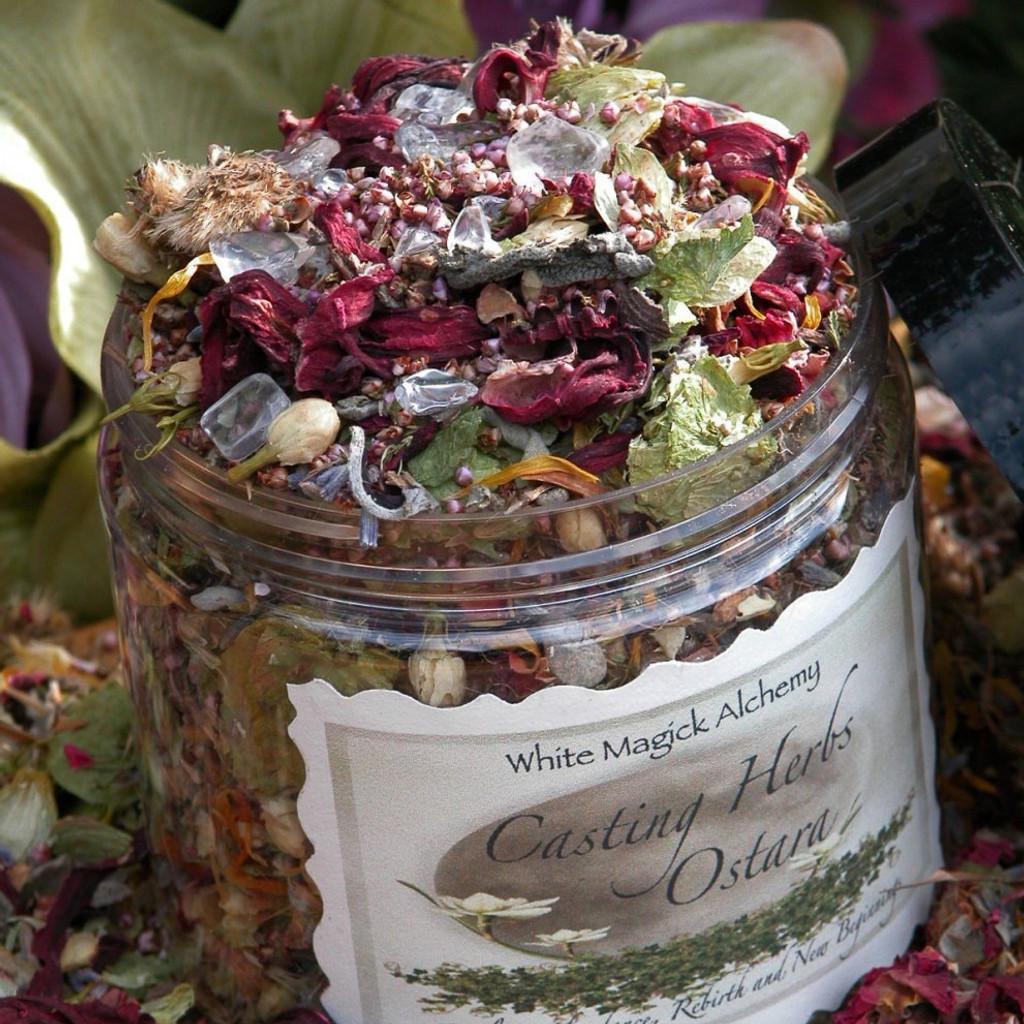 Ostara Casting Herbs