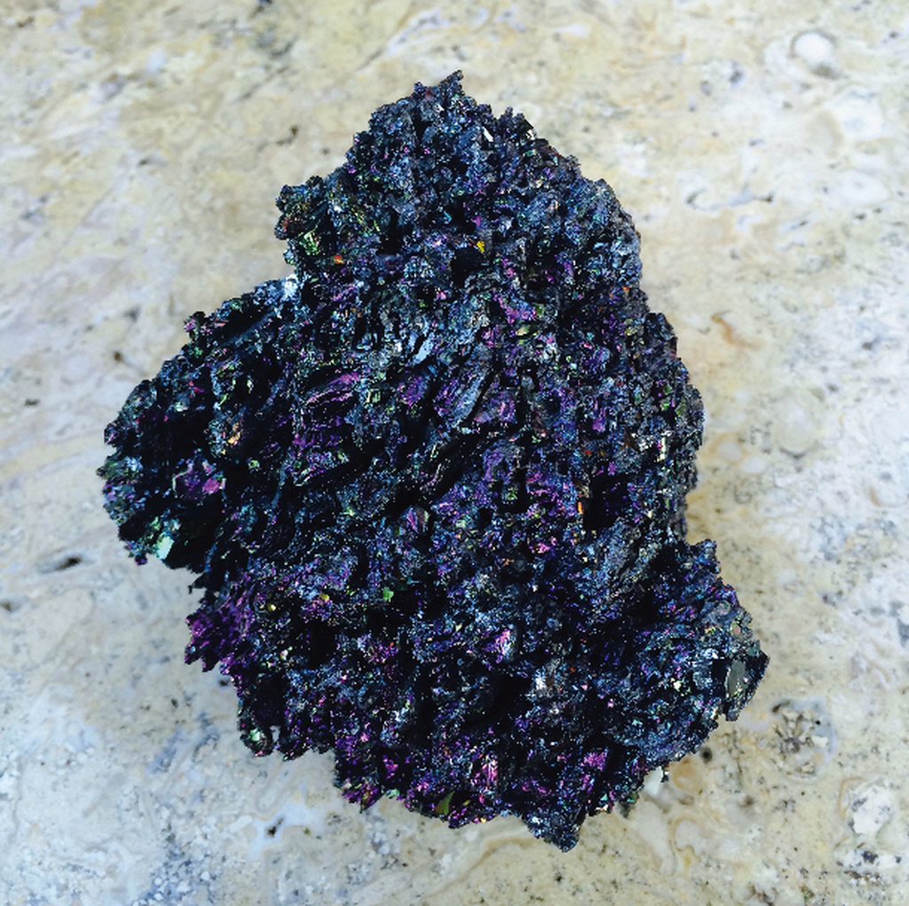 Rainbow Carborundum, Silicon Carbide, Rainbow Stardust the Conductor Crystal