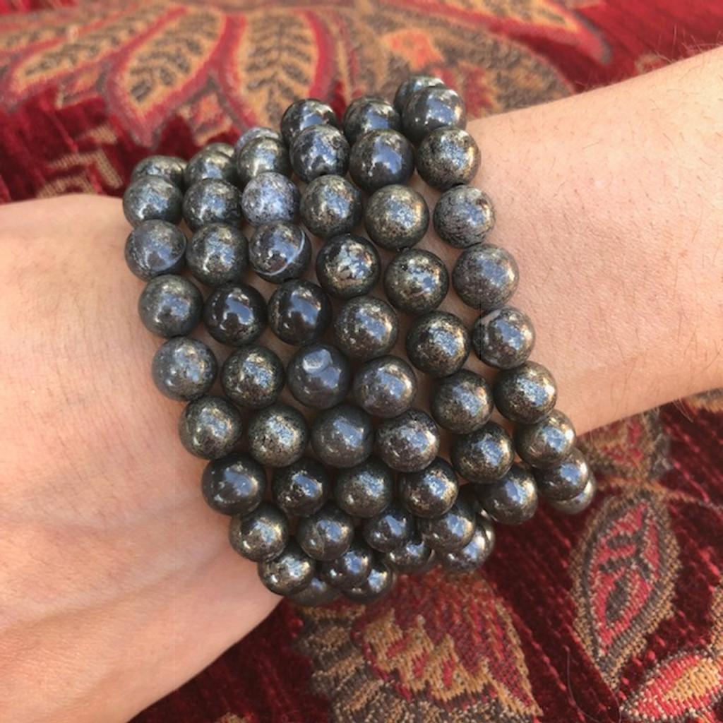Healers Gold Energy Gemstone Bracelets for Healing, Love, Fortune, Energy Work