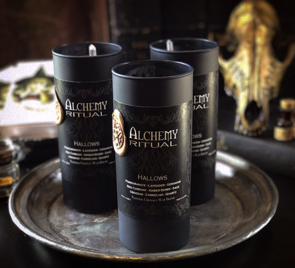 Witches New Year Samhain Candles