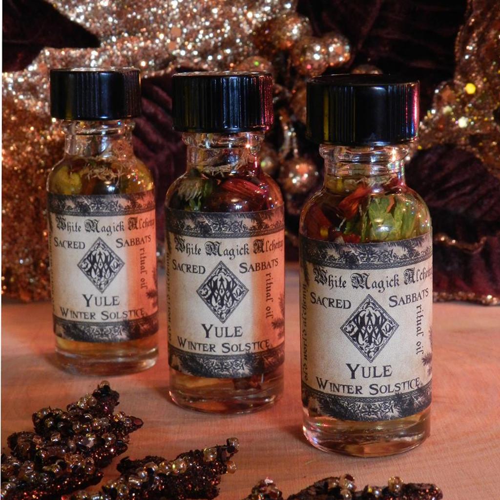 Yule & Winter Solstice Alchemy Ritual Oil