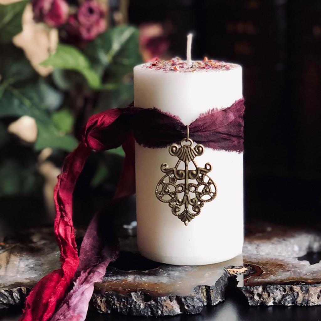 Imbolc Candles Ritual Candles