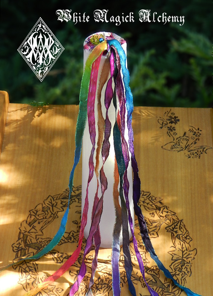 Beltane Candles