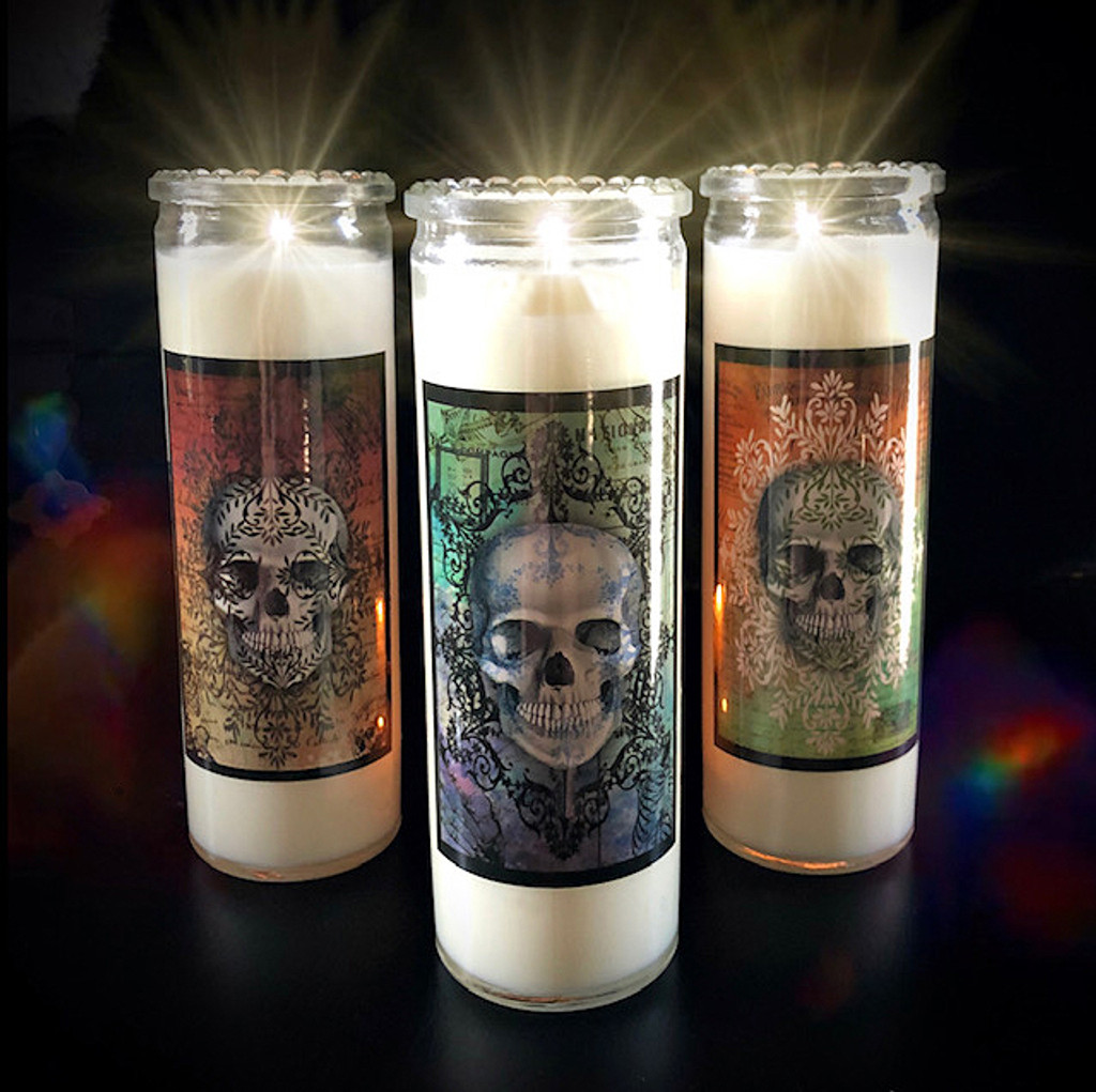 Dia de los Muertos Supplies Candles