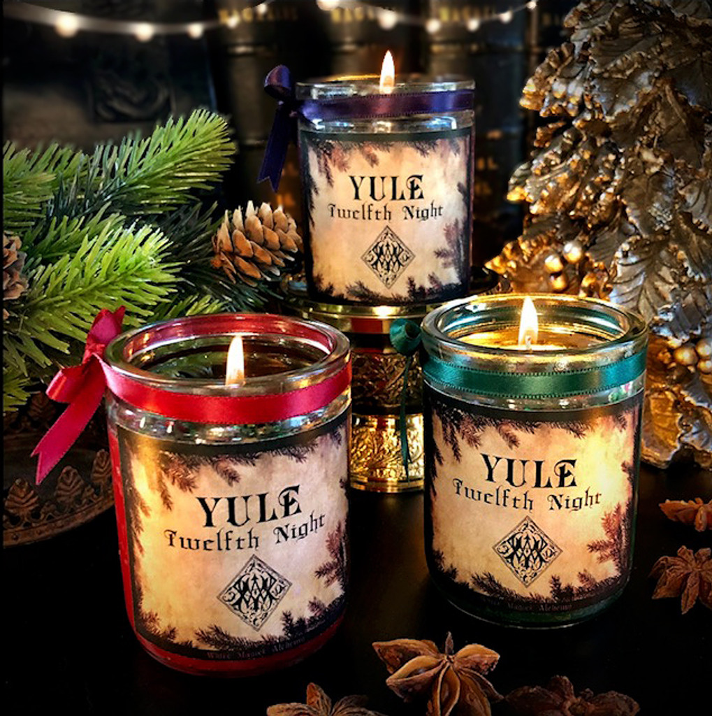 Yule Candles