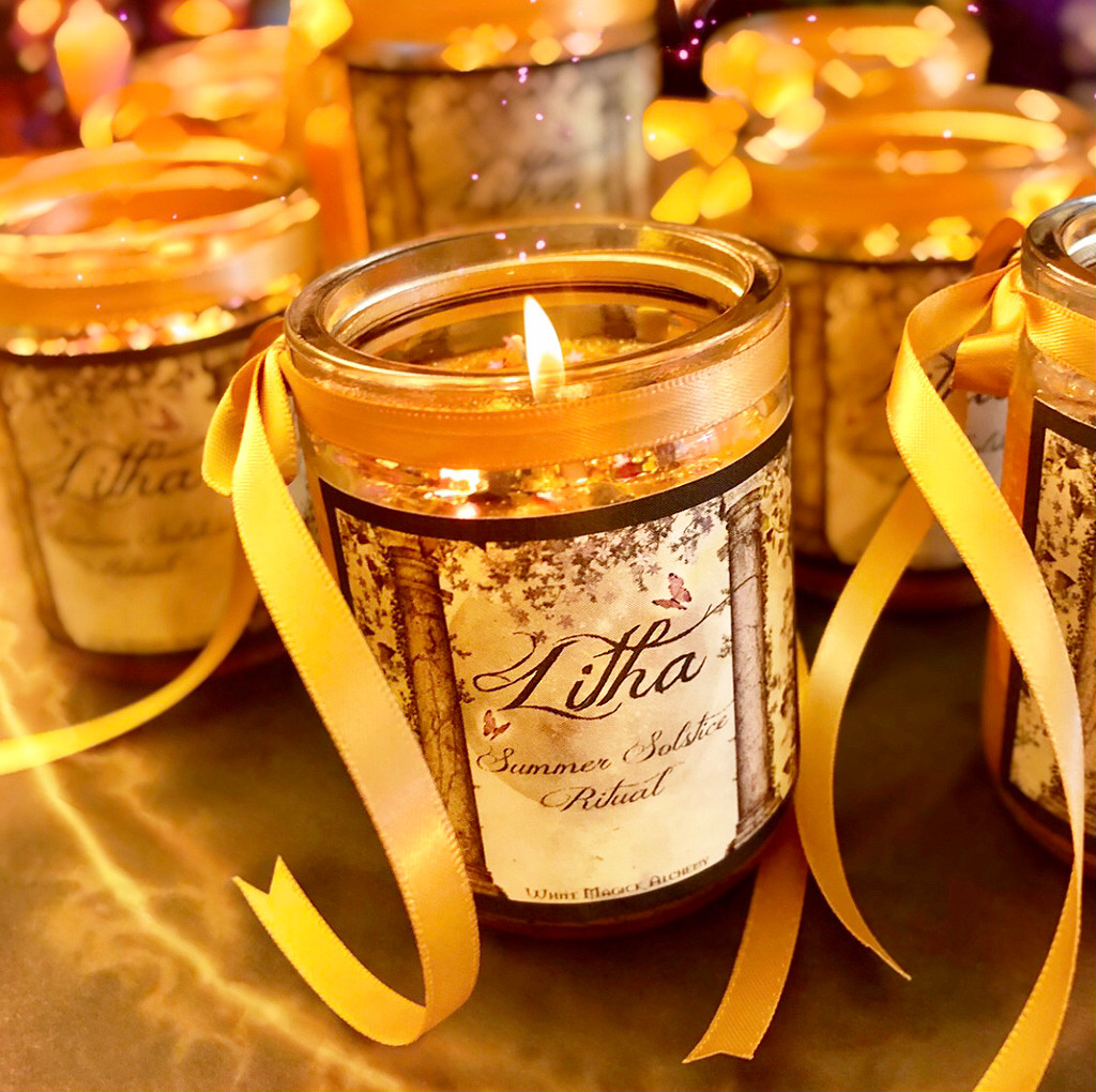 Litha Candles