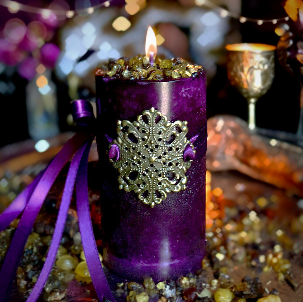 Harvest Candles Pagan Wicca