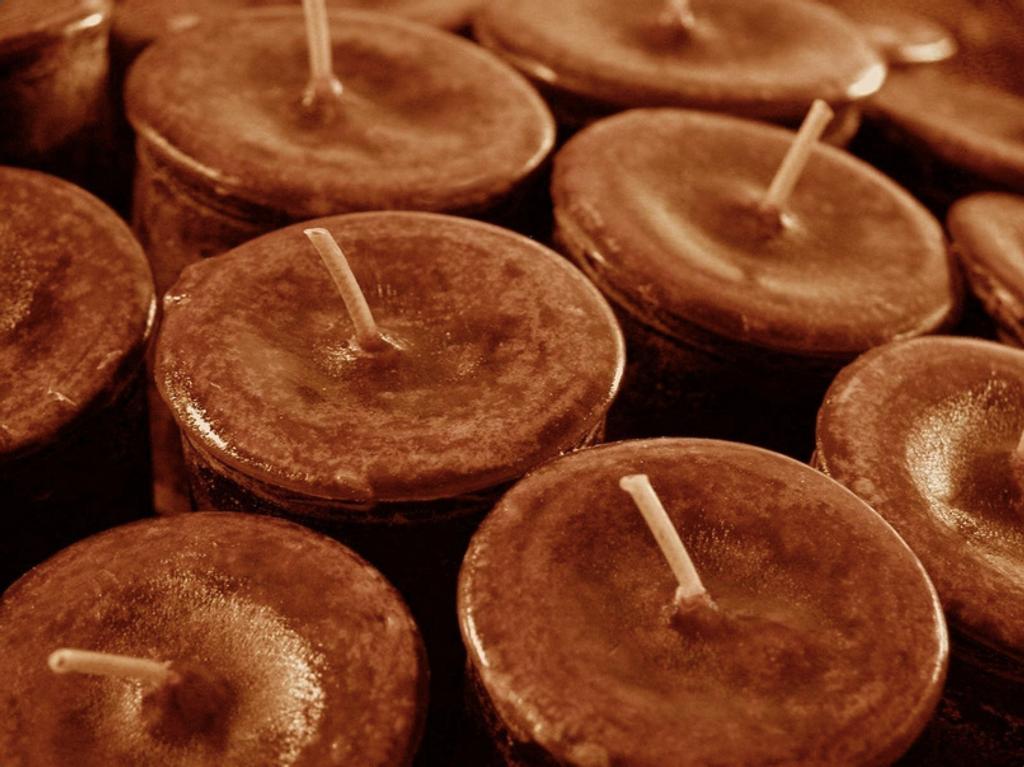 Pumpkin Spice Candles