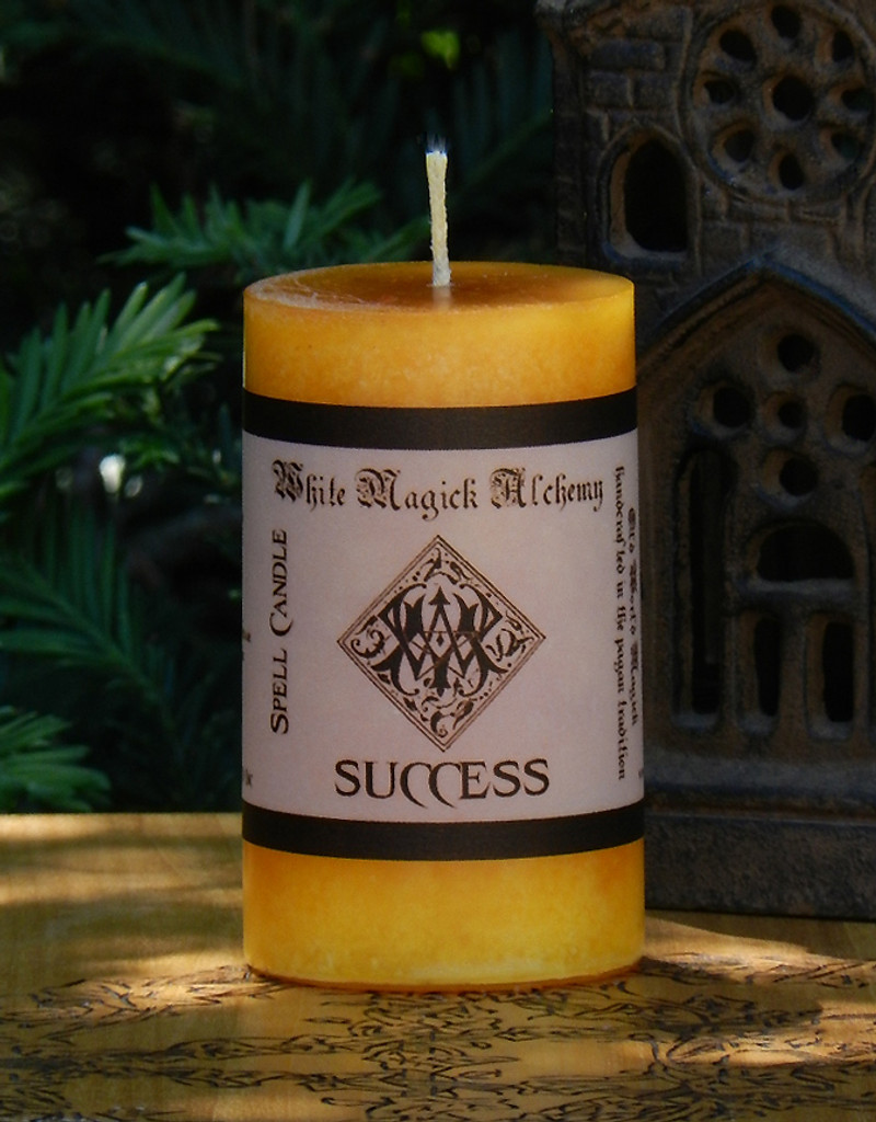 SUCCESS Spell Candle . Love, Life, Health, Career, Business and Financial Matters