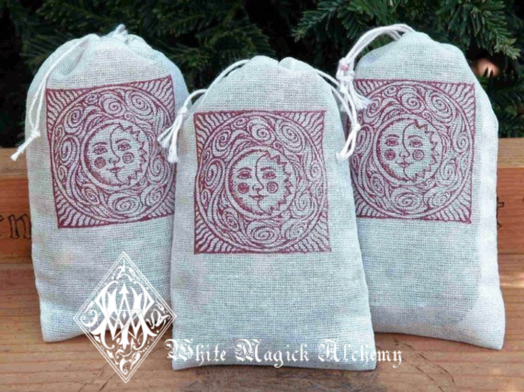 Dream Pillow Muslin Pouches  for Dreamtime and Astral Protection, Peaceful Sleep and Relaxation