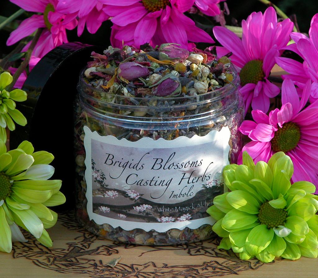 Brigids Blossoms Imbolc Casting Herbs . Festival of Light Bonfires