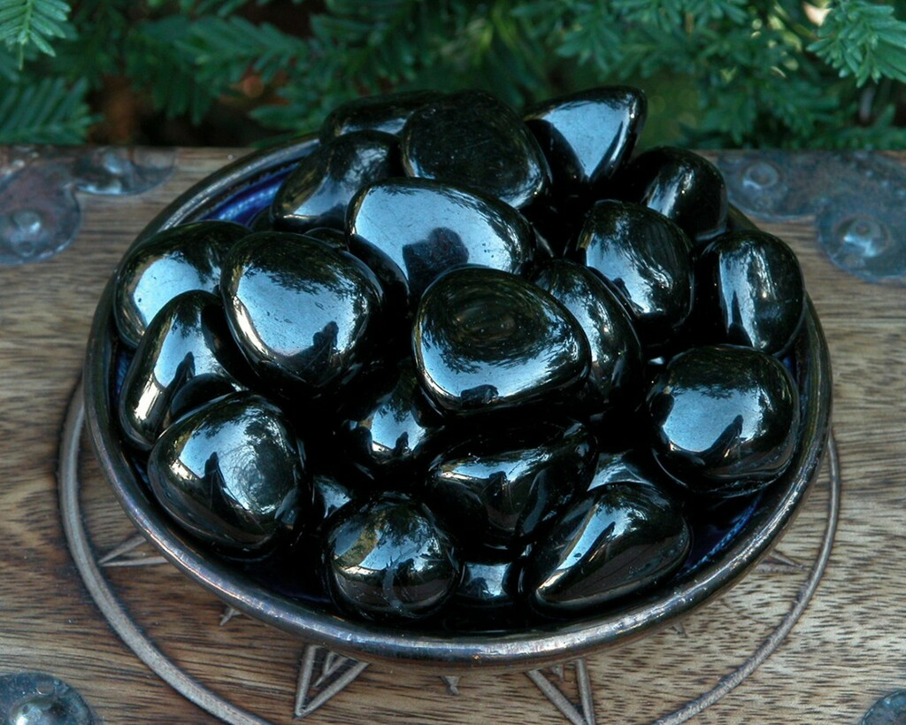 Jet Tumbled Jumbo Fossilized Gemstone Absorbs Negative Energy, Protection Against Psychic Attacks and Evil, Auric Clearing