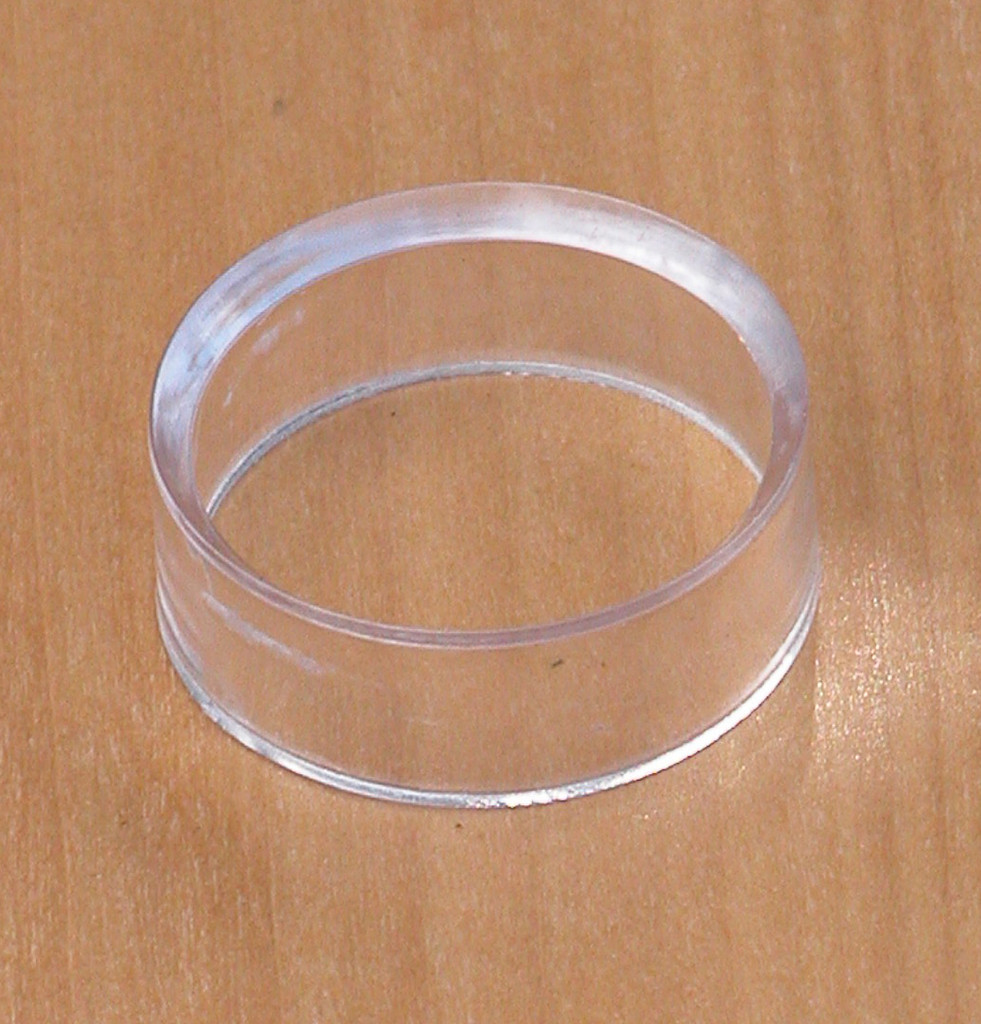 Display Ring Medium For Crystal Spheres and Eggs Acrylic