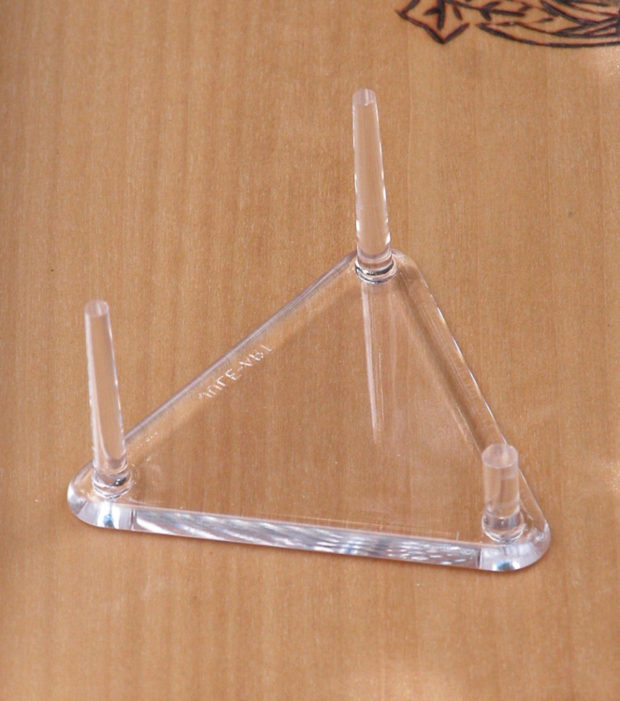 Display Stand Triangle for Clusters and Geodes Acrylic