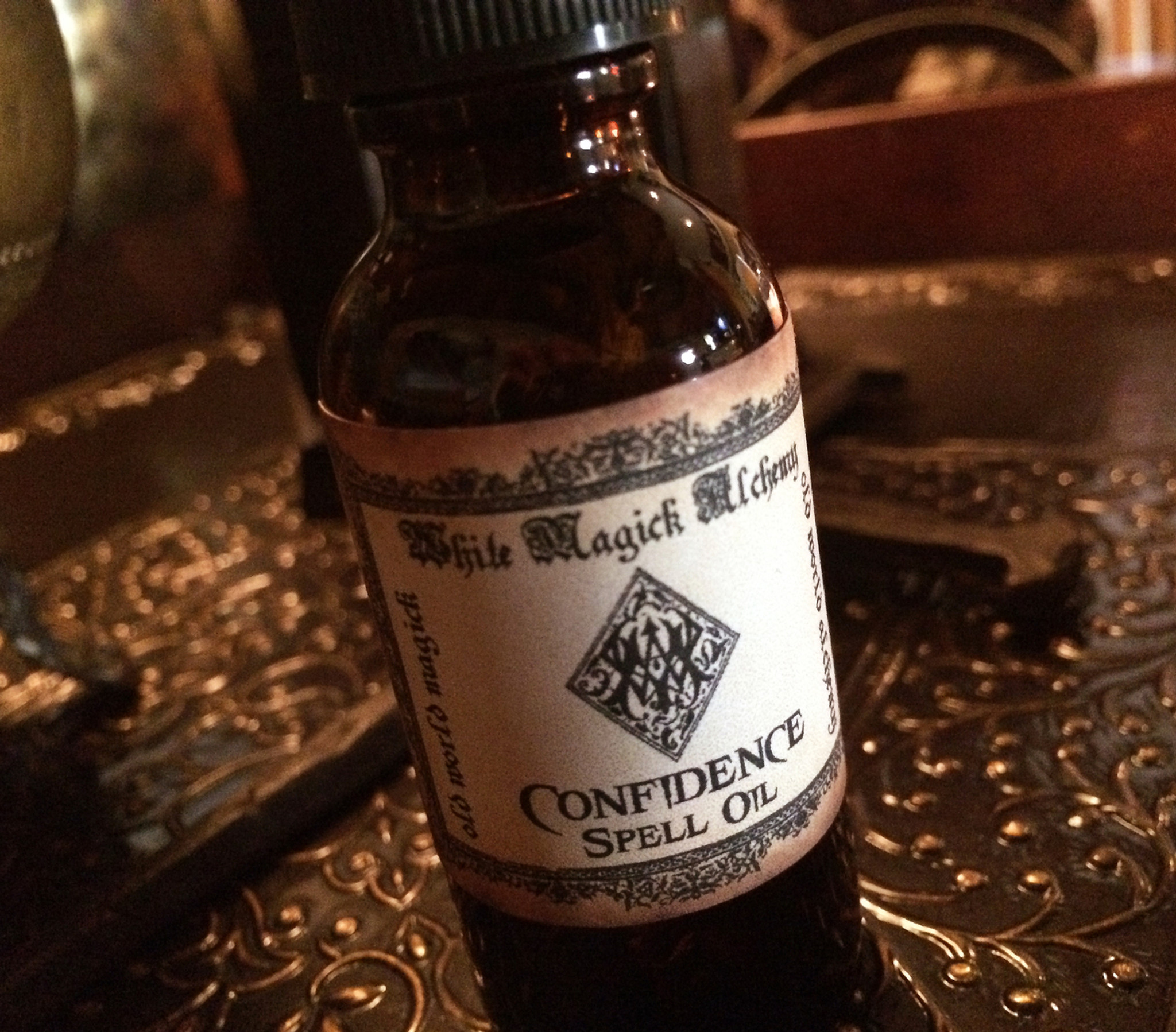 CONFIDENCE Spell Oil  Strength, Courage, Self-Love, Victory