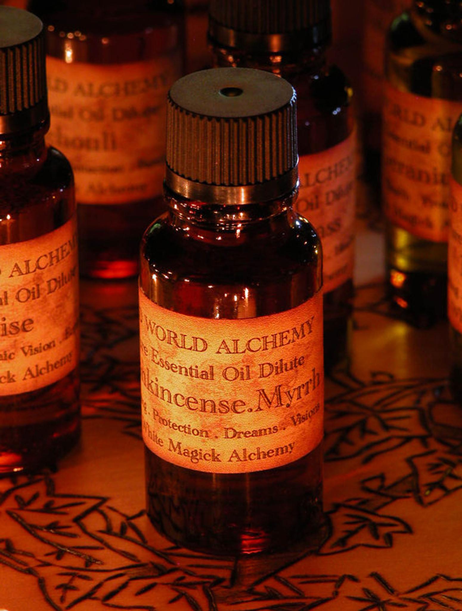 Frankincense And Myrrh Essential Oil White Magick Alchemy