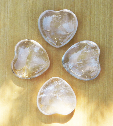 Gemstone Hearts for Jewelry Making