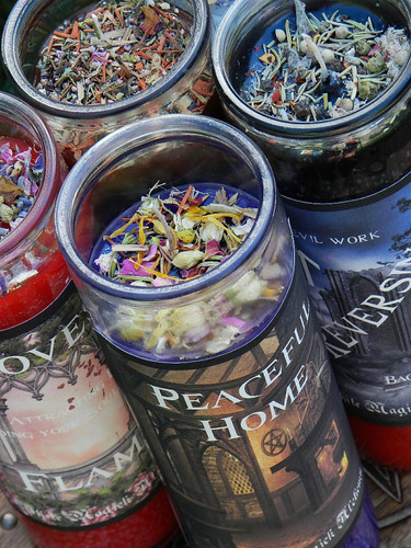 Healing Ritual Spell Jar Vigil Candle . Health, Healing, Wellness, Strength, Courage