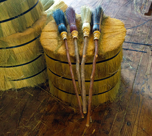 Ceremonial Witch Brooms