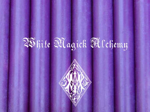 Purple Chime Candles