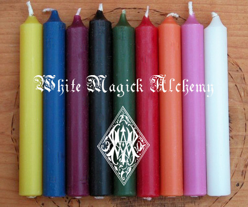 Chime Candles Assorted Set of 6 ~ Choose Your Colors