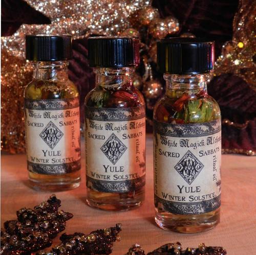 Yule Winter Solstice Alchemy Ritual Oil